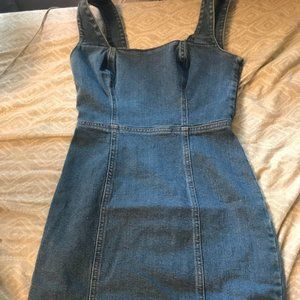 Urban Outfitters Demin Mini Dress